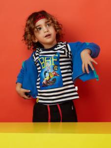 迪士尼宝宝蓝色运动外套