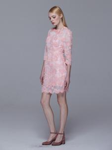Maia Yan美言新款优雅连衣裙