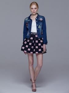 Maia Yan美言新款时尚牛仔外套