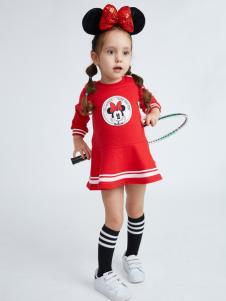 迪士尼宝宝女童可爱连衣裙