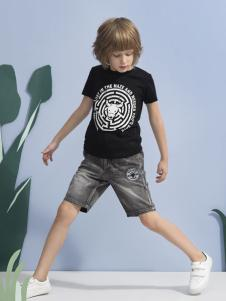 米拉熊黑色T恤