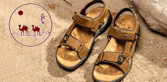城市骆驼运动鞋演绎个性品味