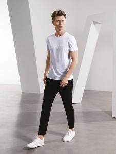 TUCANO啄木鸟新款白色T恤