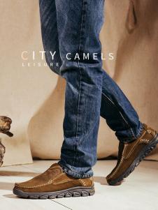 城市骆驼休闲鞋