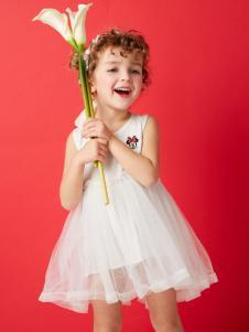迪士尼宝宝童装夏款连衣裙