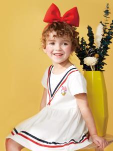 迪士尼宝宝女童夏款连衣裙
