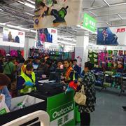 奥库运动户外超市提升消费者购物体验