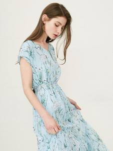 SELECTED(思萊德)雪紡連衣裙