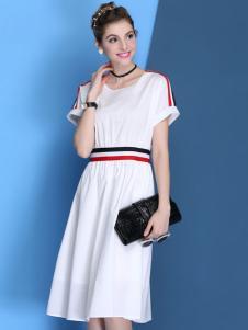 Derli Galam白色连衣裙