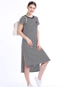 Derli Galam条纹裙