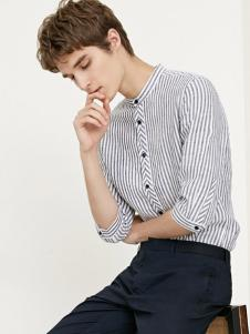 SELECTED(思莱德)男装条纹衬衫