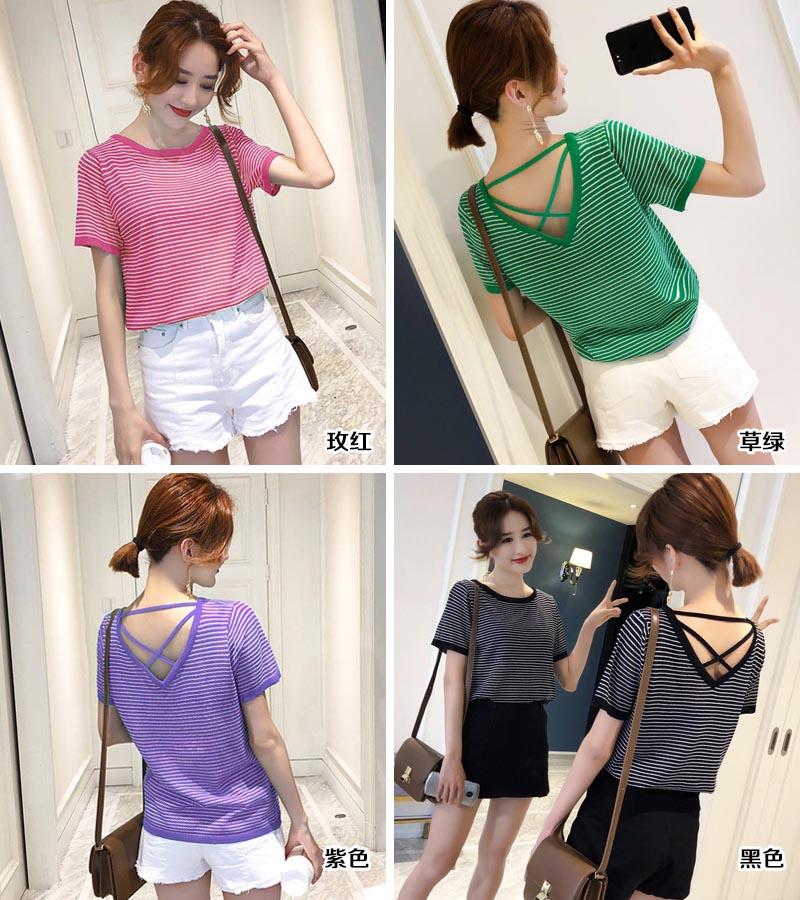 时尚韩版女装T恤批发|女装批发