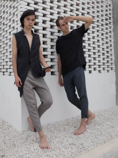 2018HS男装夏款设计师范T恤