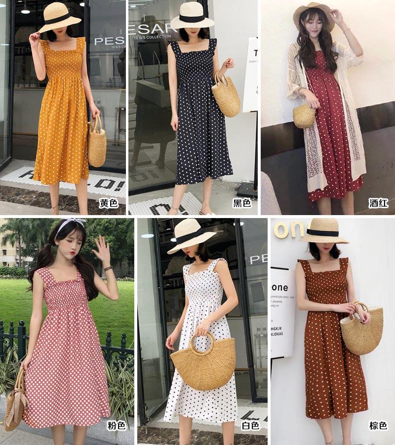 韩版棉麻女式连衣裙批发|女装批发