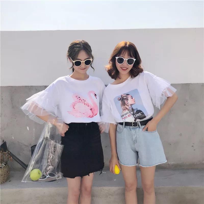 名媛时尚女式T恤|女装供应