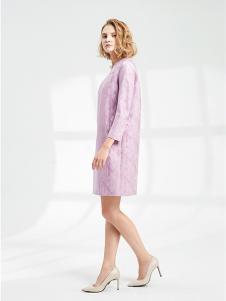 SHELIS女装紫粉色休闲外套