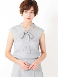 JILL STUART女装灰色无袖T恤