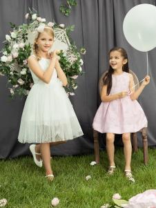水孩儿女童18夏款连衣裙