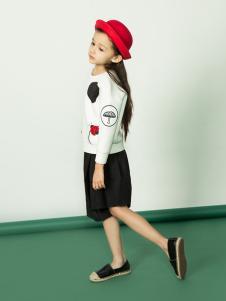 水孩儿童装女童18新款套装