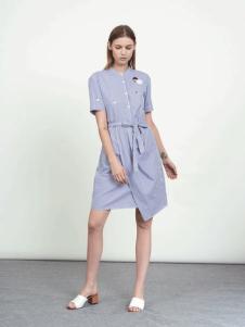 WZWJ未知未觉新款衬衫裙