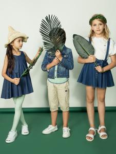 2018水孩儿童装夏季新款