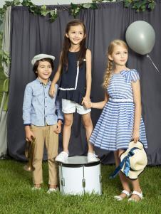 水孩儿童装18夏季新款