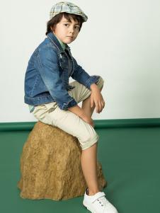 水孩儿童装男童牛仔外套