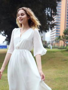欧玥新款时尚优雅连衣裙