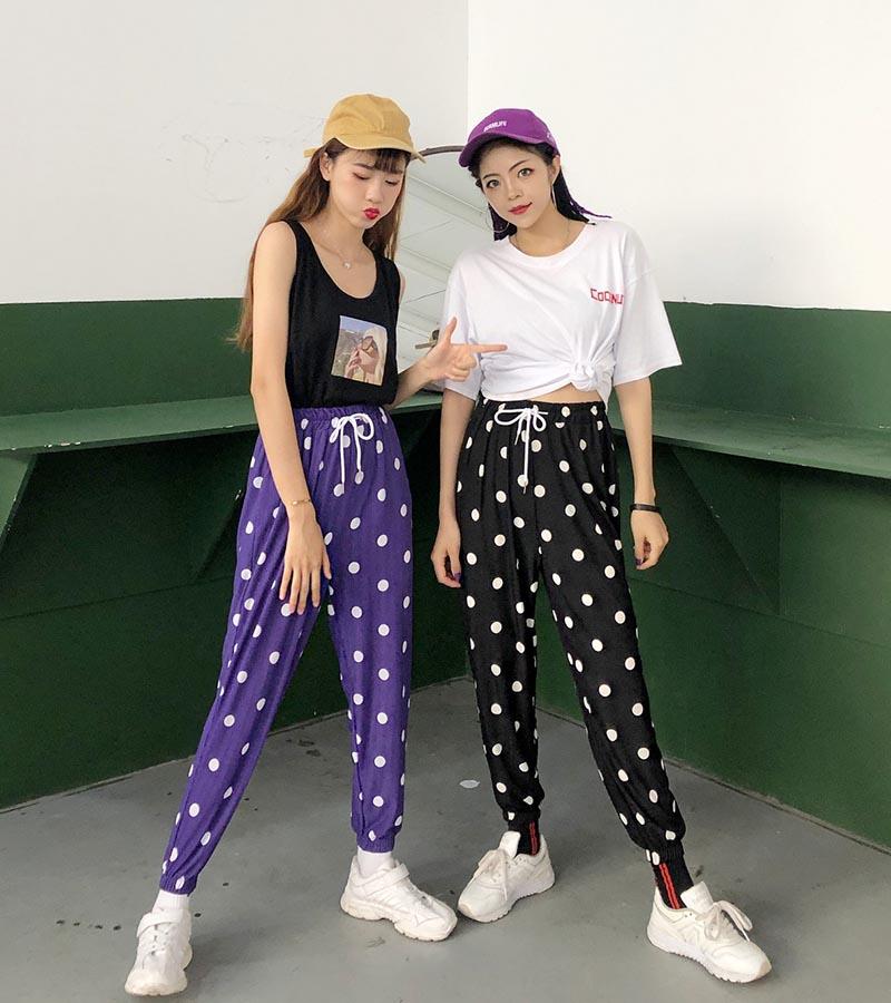 韩版夏款女装休闲裤批发女装批发