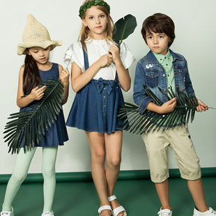 """""""水孩儿""""童装自创立以来以良好的品质赢得了市场口碑!"""
