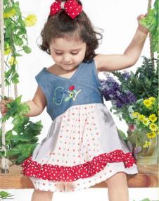 婴乐岛女小童夏款可爱连衣裙