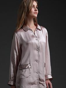 珊目尔内衣家居新品淡粉色女士家居服