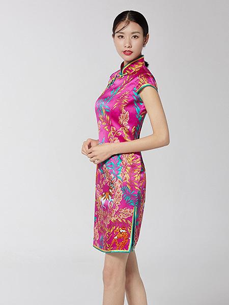 生生韵丝绸旗袍