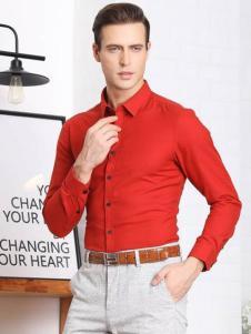 LEONARDO利奥纳多红色衬衫