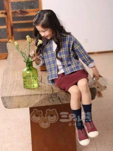 三只小熊童装女童韩版外套