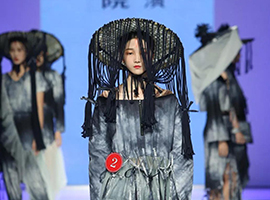 2018广东大学生时装周 广州南洋理工职业学院服装设计毕业作品展演