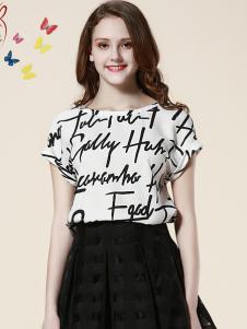 青木三色女装夏款T恤