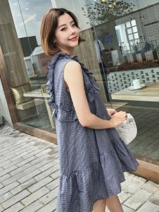 百变伊伊2018夏韩版连衣裙