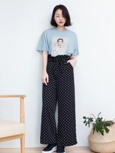 LIULIU MO刘刘墨新款高腰裤
