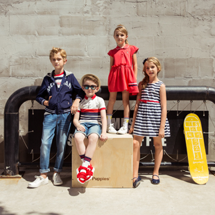 暇步士童装潮流风范,让宝贝超时尚暇步士童装招商