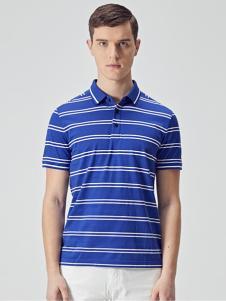 EHE男装新款条纹T恤