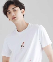 2018夏季新款男士短袖T恤潮