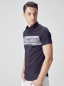 EHE男装新款短袖T恤