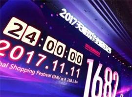 天猫今年双十一可能做20天 销售额超2500亿