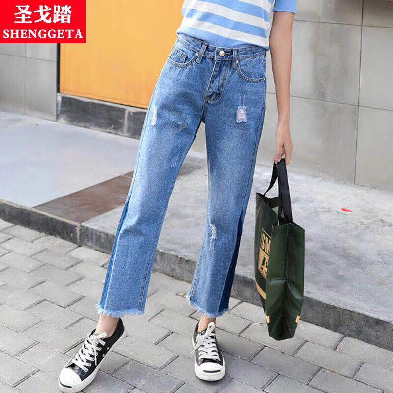 欧版及日韩版女款牛仔裤批发