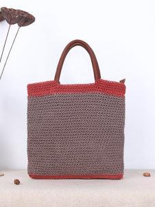 潮黛纺织手提包