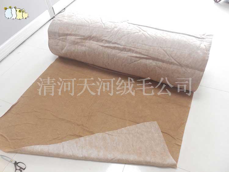 优质的纯驼绒絮片垫料供应