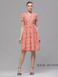 2018imili艺梦来夏款气质连衣裙
