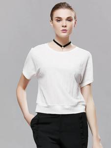 2018imili艺梦来白色T恤