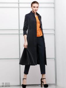2018imili艺梦来黑色时尚外套